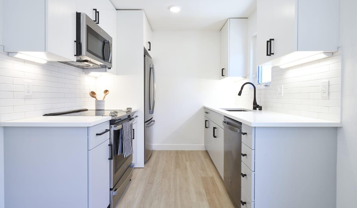 Boardwalk Apartment Kitchen