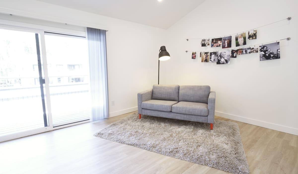Boardwalk Apartment Living Room & Patio