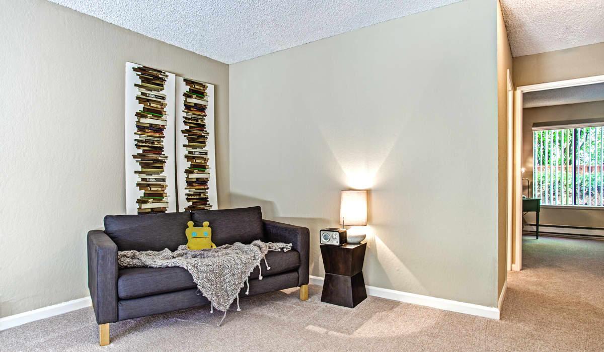 Boardwalk Apartment Living Room & Hall