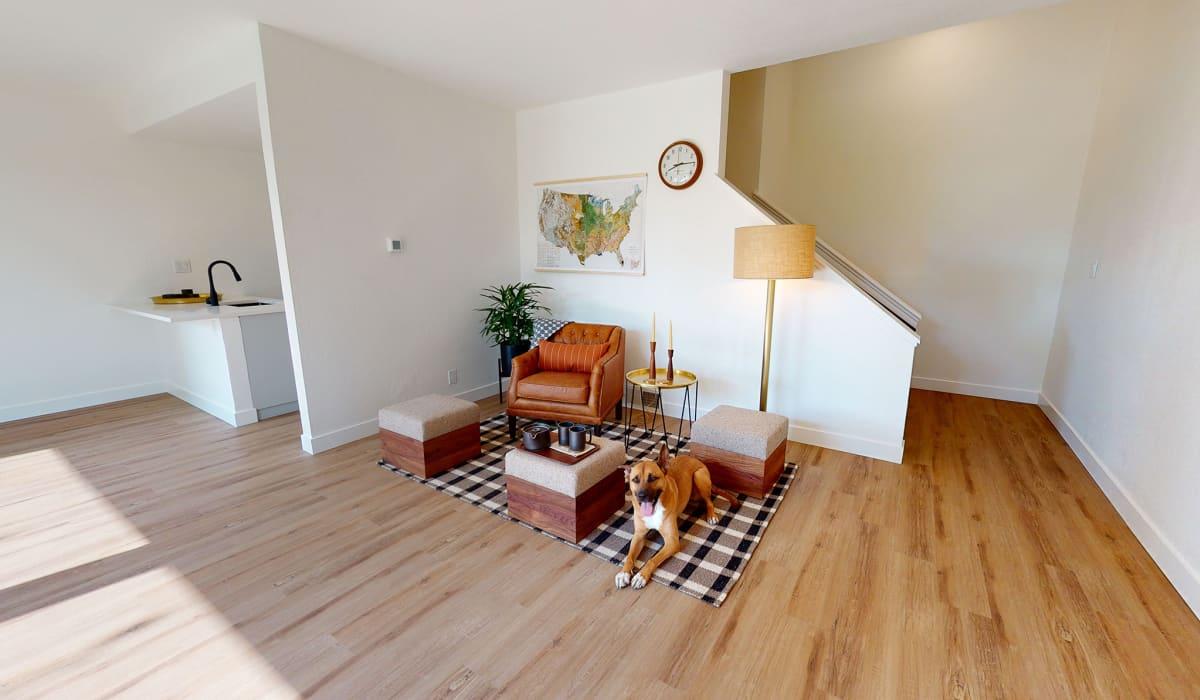 Gardens of Fontainbleu Apartment Living Room