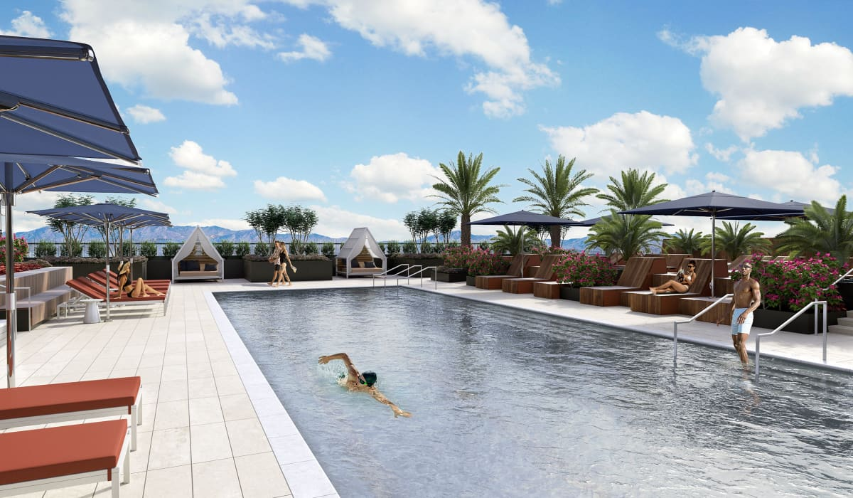 The Benton Rooftop Pool and Sundeck