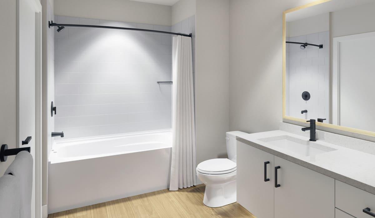 The Benton Apartment Bathroom