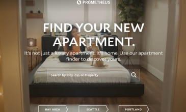 A screenshot of the prometheusreg.com website