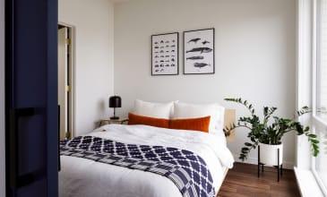 Raleigh Slabtown Apartment Home Bedroom