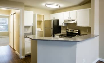 Birch Pointe Apartment Kitchen