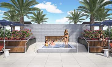 The Benton Rooftop Spa