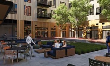 Saltwood North Courtyard