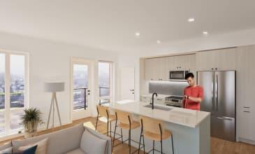 Saltwood South Apartment Kitchen