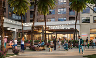 The Benton Curated Retail Courtyard