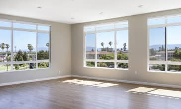 The Benton Apartment Living Room