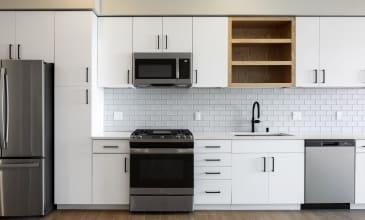 The Benton Apartment Kitchen