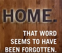Home: That word that seems to have been forgotten