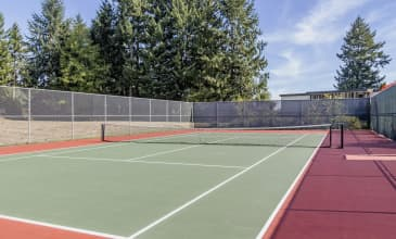 Cliffside Tennis Court