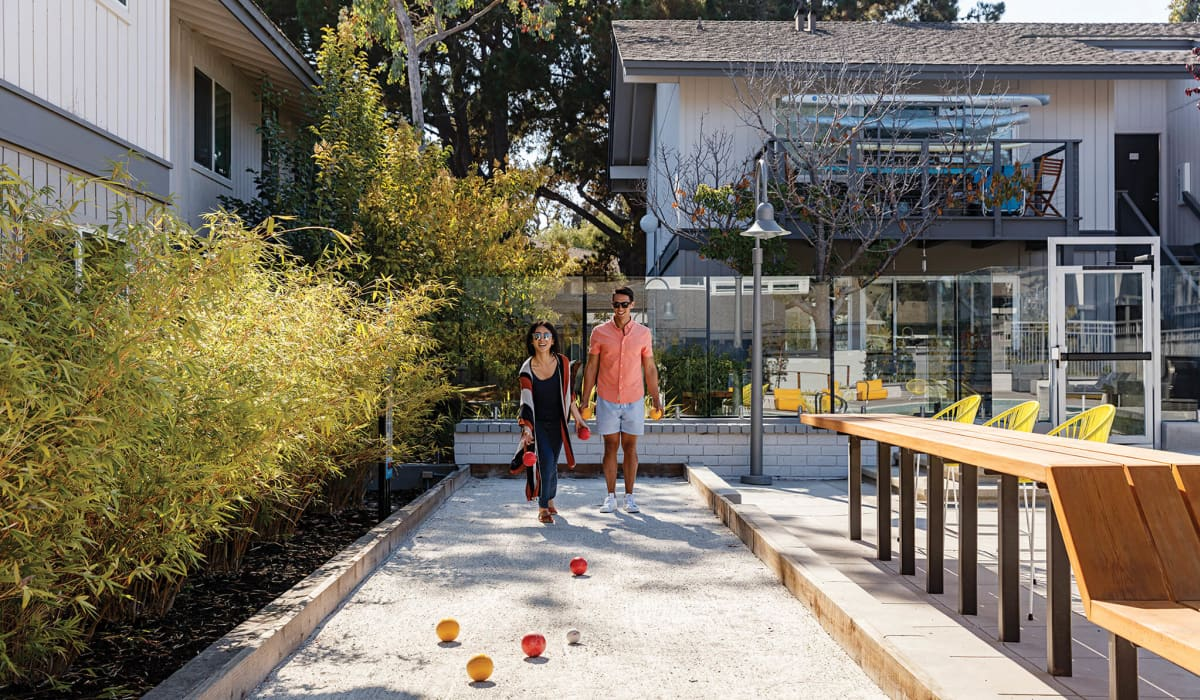 The Lagoons Bocce Ball Court