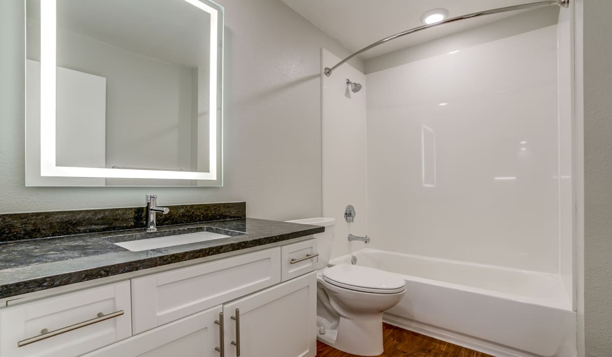 Madrone Apartment Bathroom