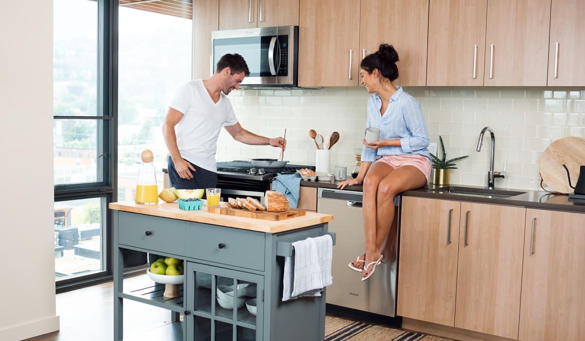 The Carson Apartment Kitchen