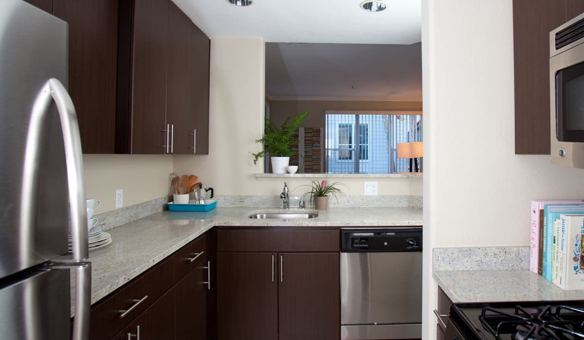Park Place Apartment Kitchen