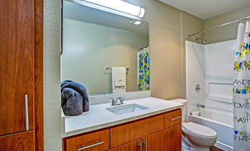 Alderwood Apartment Bathroom