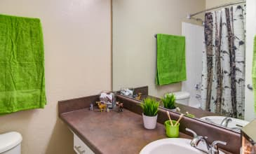 Emerald Place Apartment Bathroom