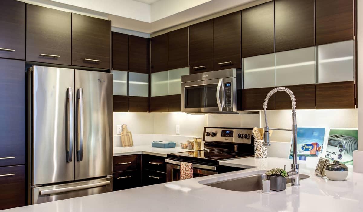 Madera Apartment Kitchen