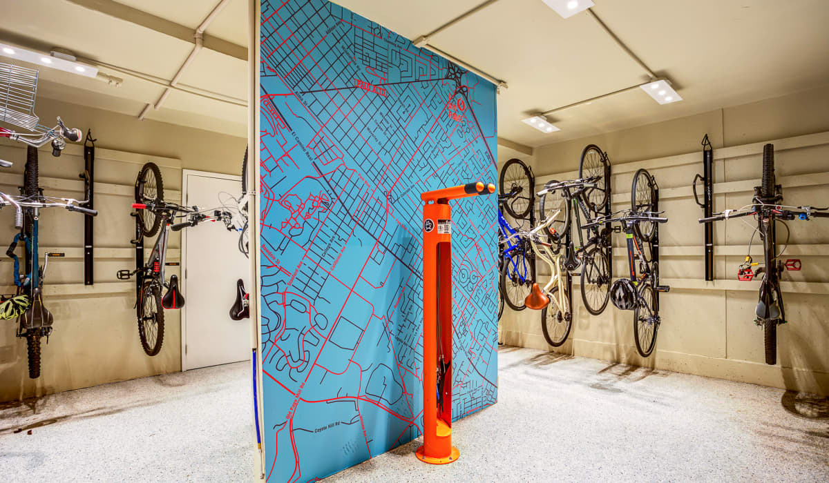 Parker Palo Alto Bike Storage