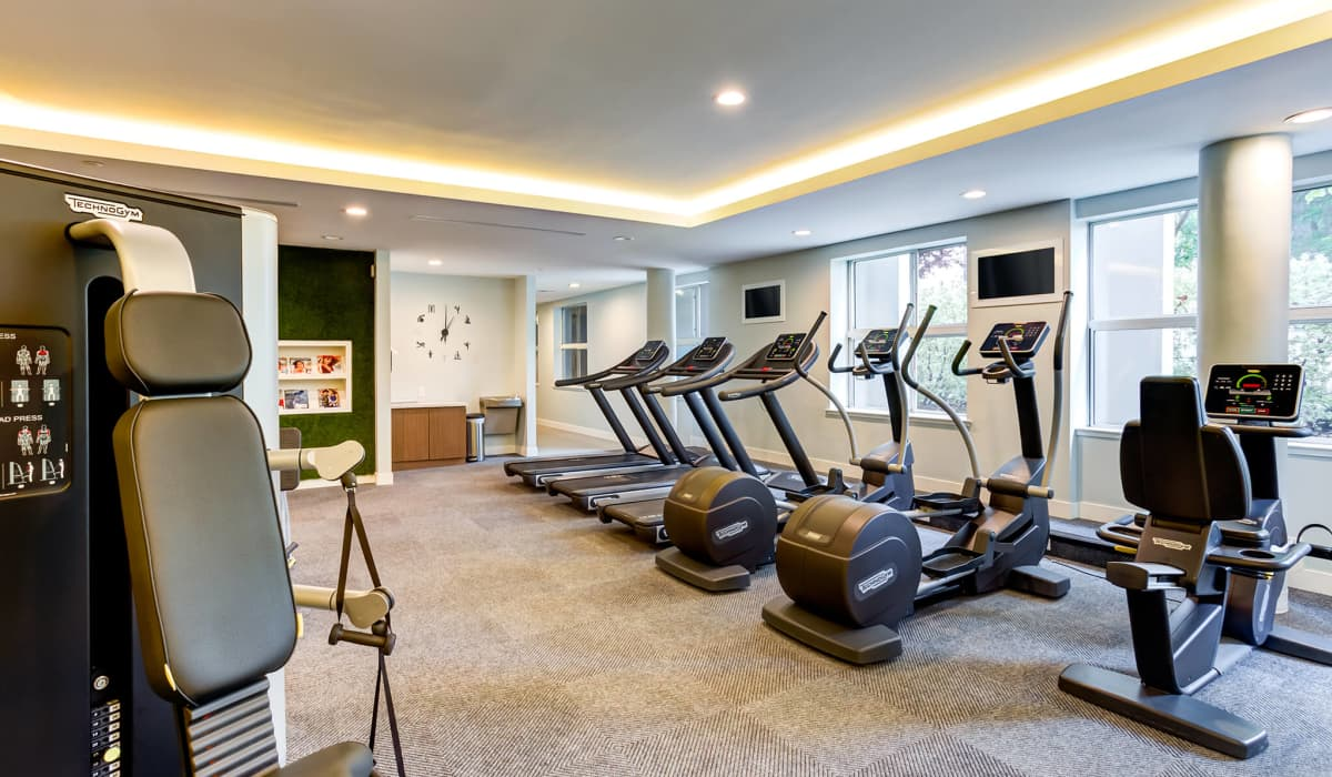 Cupertino City Center Fitness Center Cardio