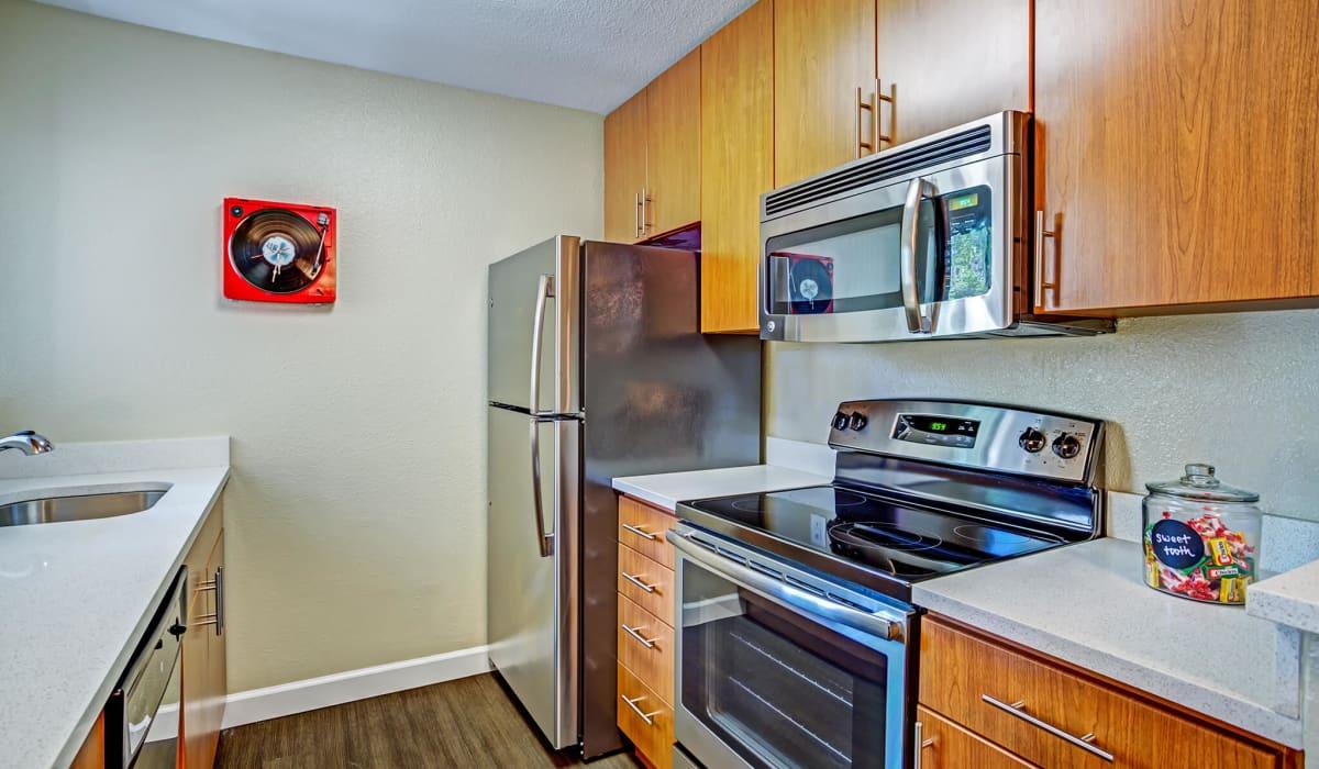 Alderwood Apartment Kitchen