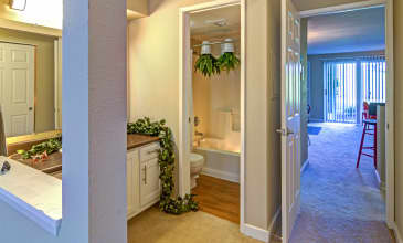Birch Pointe Apartment Bathroom