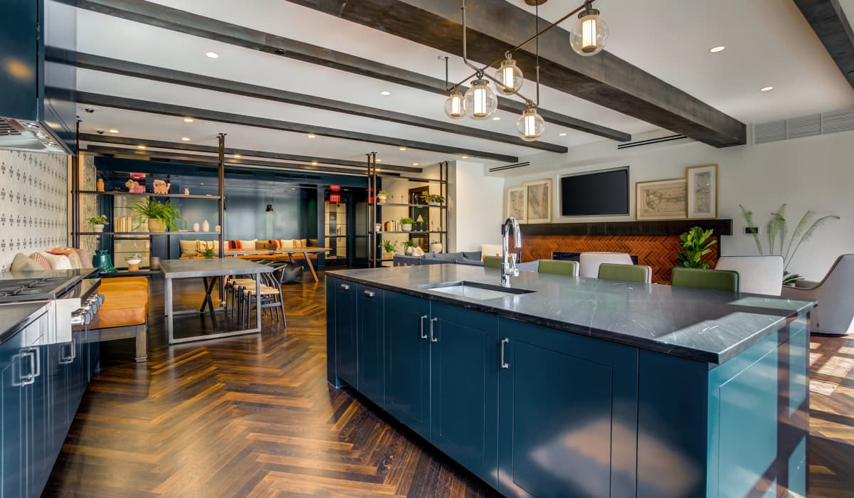 Trestle Clubhouse Kitchen