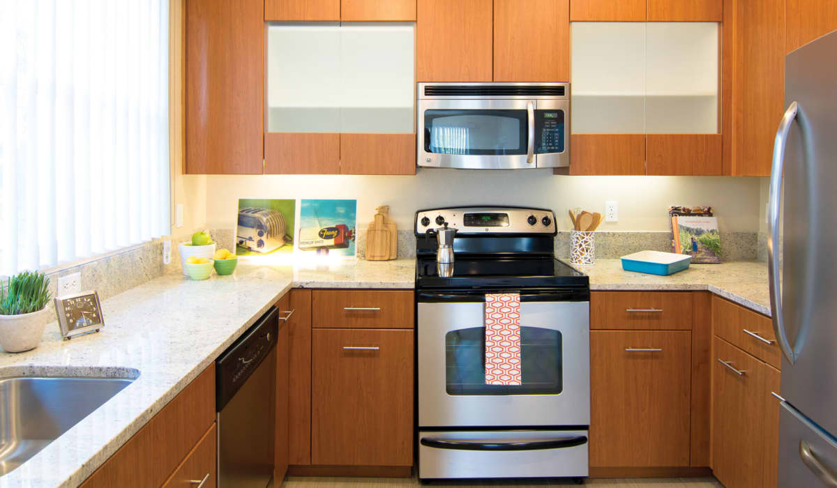 The Markham Apartment Kitchen