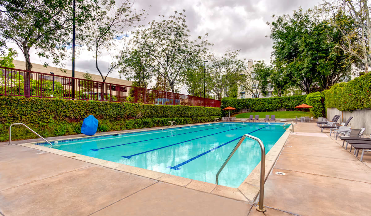 Cupertino City Center Pool