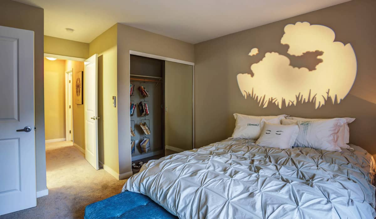 The Markham Apartment Bedroom