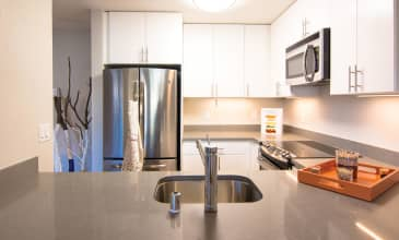 The Lagoons Apartment Kitchen