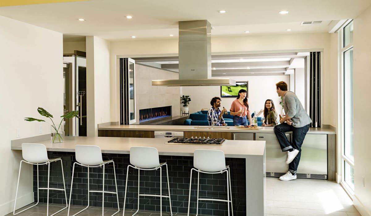 Cobalt Clubhouse Kitchen