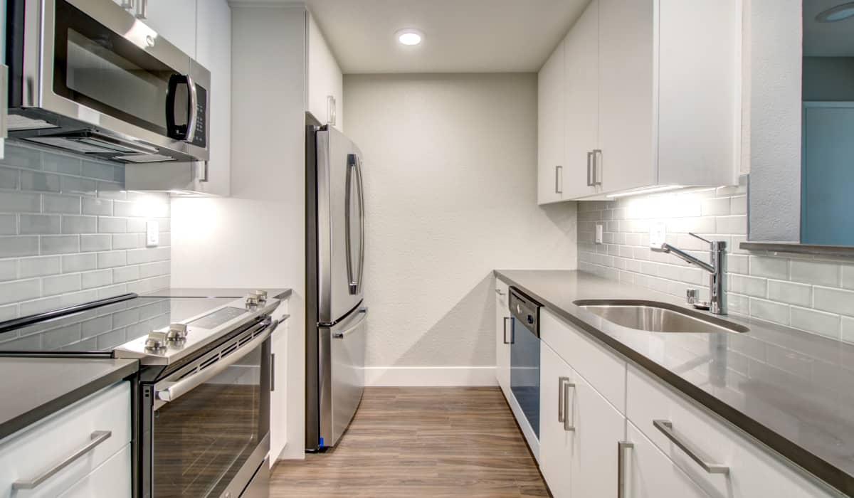 Mansion Grove Apartment Kitchen