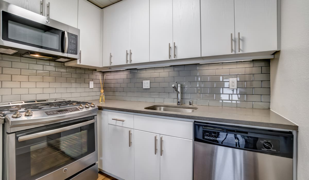 Parallel Apartment Kitchen