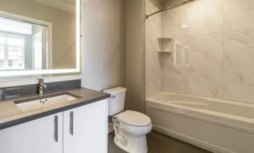 100 Moffett Apartment Bathroom