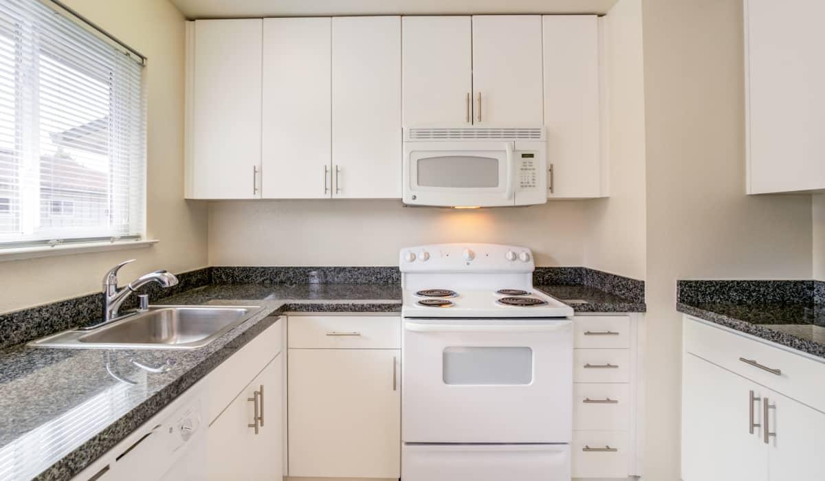 Parker Palo Alto Apartment Kitchen