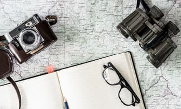 Equipment to help you go on a trip