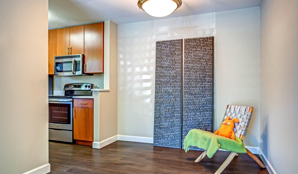 Alderwood Apartment Dining Room