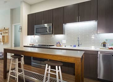 Montrose apartments for rent in Mountain view kitchen