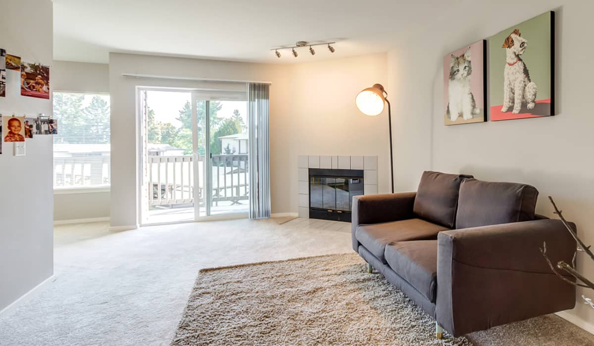 Cliffside Apartment Living Room