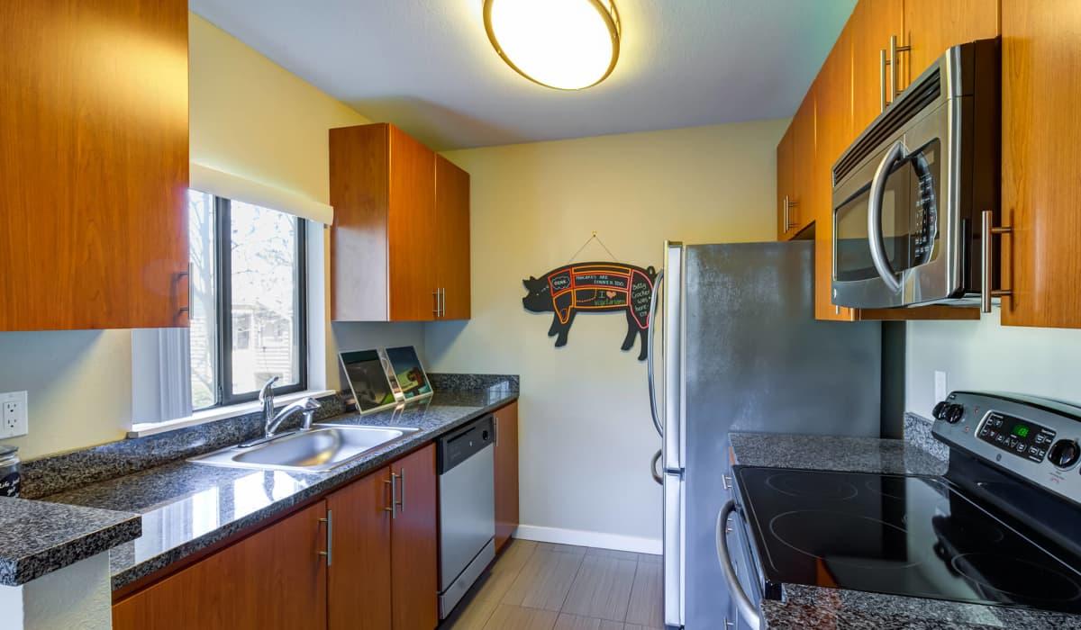 The Lakes Apartment Kitchen
