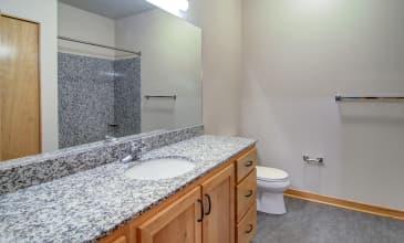 10th @ Hoyt Apartment Bathroom
