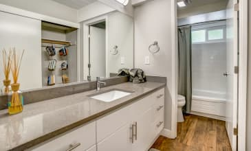 Parallel Apartment Bathroom