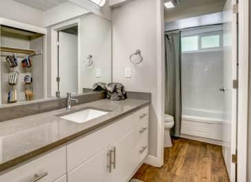 Parallel Bathroom