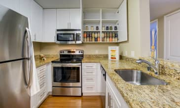 Kensington Place Apartment Kitchen