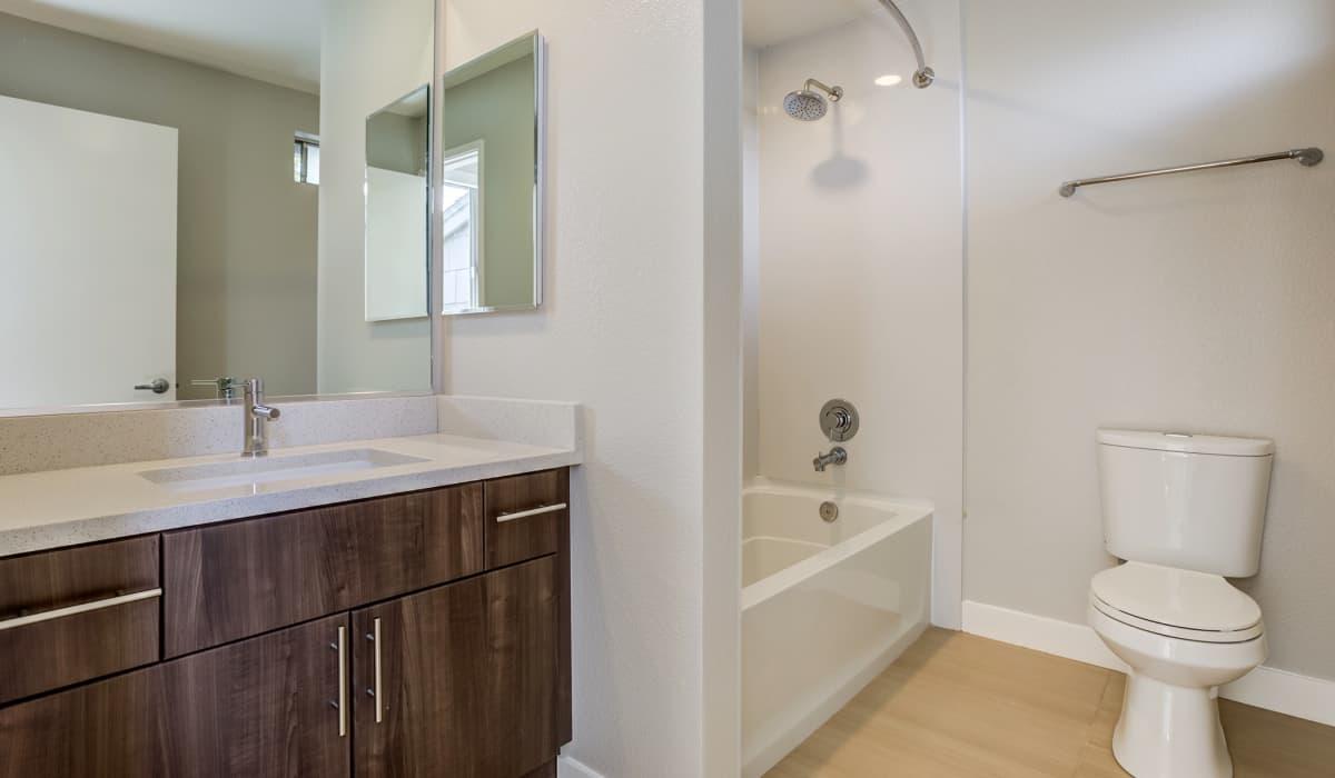 Forest Glen Apartment Bathroom