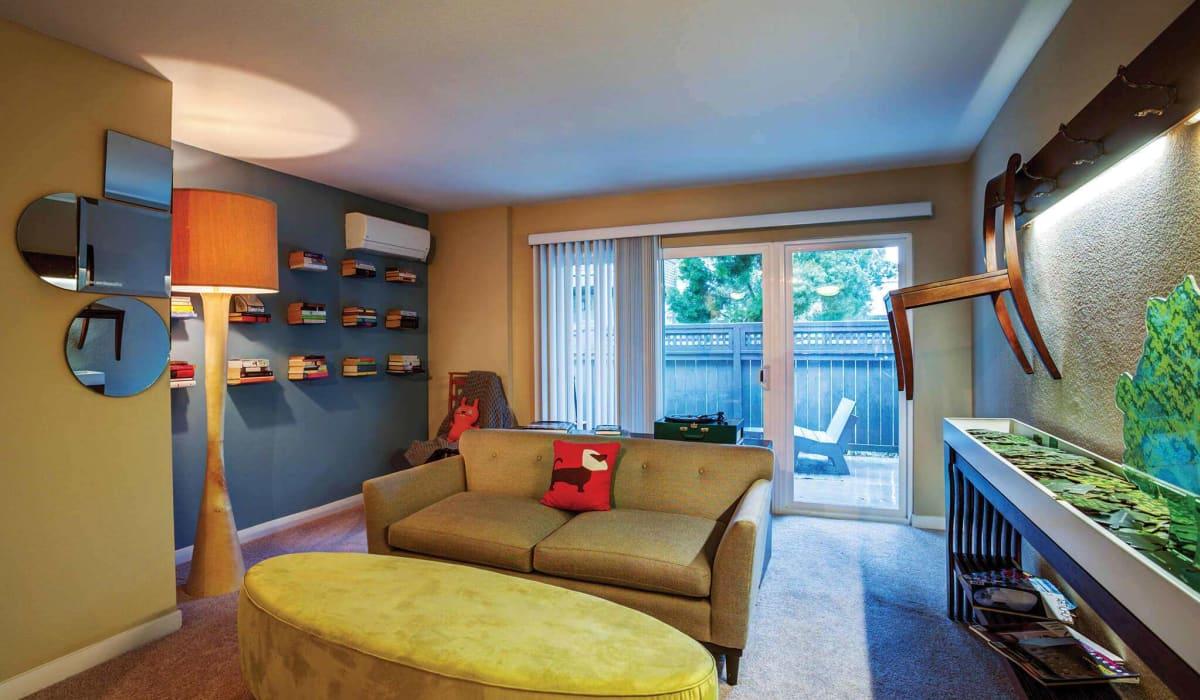 The Markham Apartment Living Room