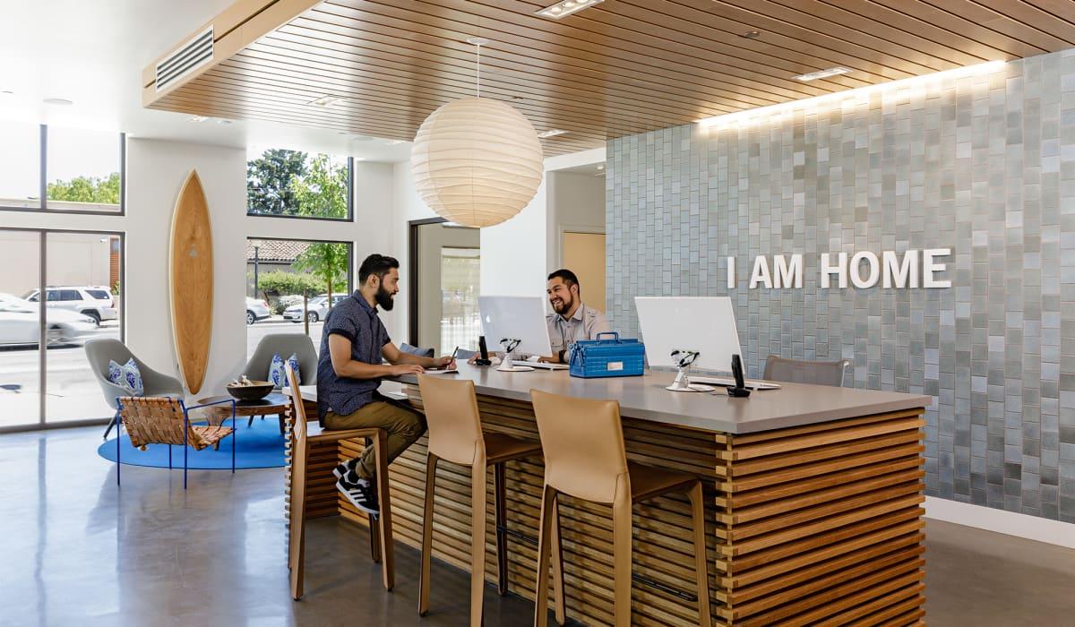 100 Moffett Leasing Office